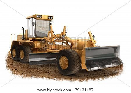 Generic construction road grader construction machinery