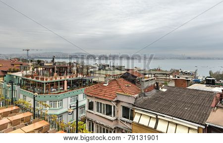 Istanbul Rooftop View, Turkey