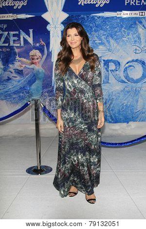 LOS ANGELES - NOV 19: Ali Landry at the premiere of Walt Disney Animation Studios' 'Frozen' at the El Capitan Theater on November 19, 2013 in Los Angeles, CA