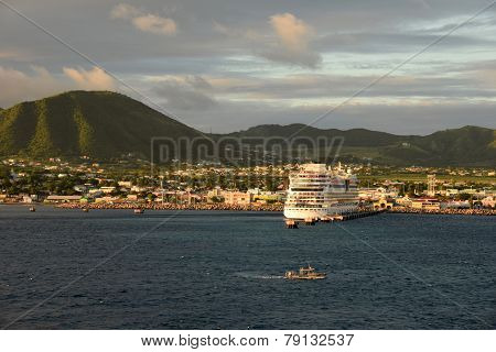 Basseterre, Capital Of St Kitts And Nevis