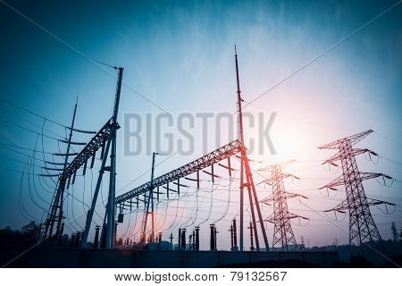 Power Distributing Substation