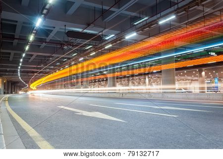 Light Trails On City Road