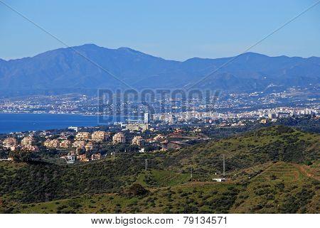 Marbella coastline, Spain.