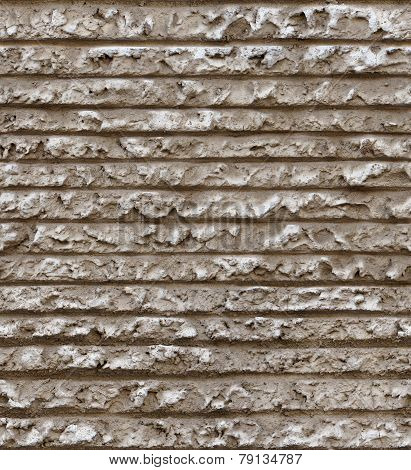 seamless horizontal line cement plaster wall texture