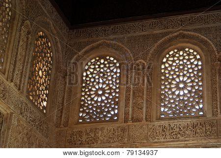 Moorish architecture, Palace of Alhambra.