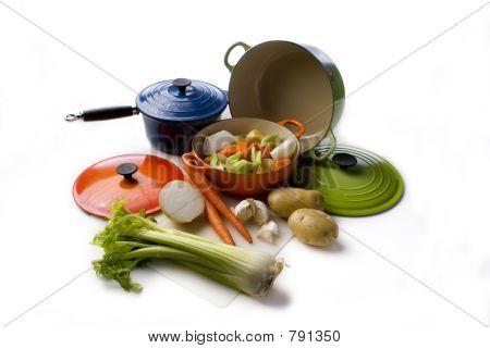 Stew pots