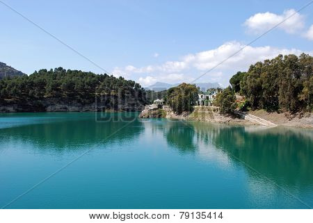 Guadalhorce lake, Ardales.