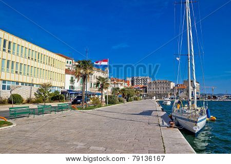 City Of Sibenik Waterfront View