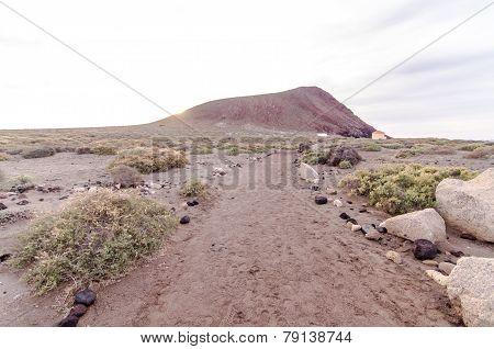 Empty Footpath