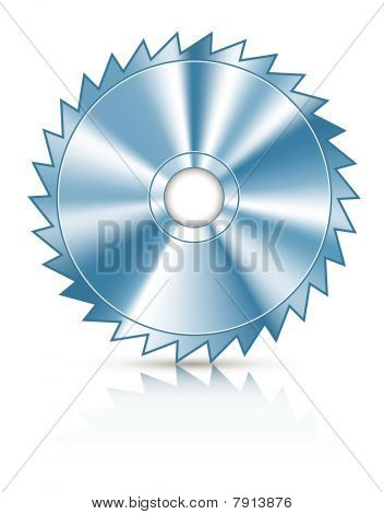 blade circular saw for cutting wood