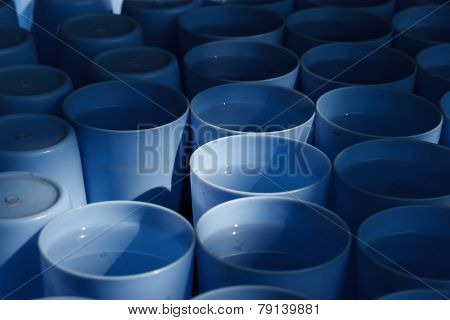 Blue Plastic Cup Drink