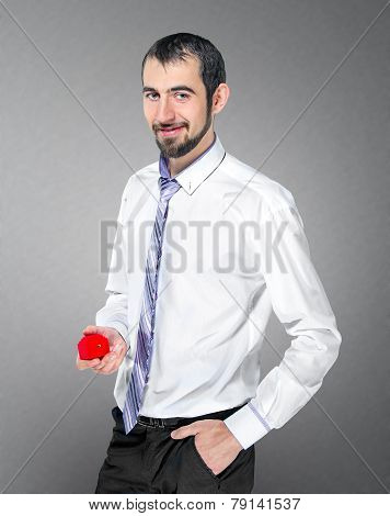 Handsome Man Makes A Marriage Proposal