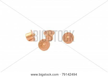Set of wood dowel centers