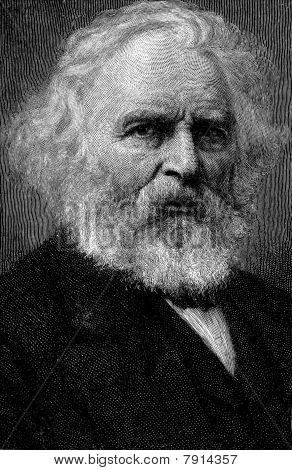 Retrato de Henry Wadsworth Longfellow