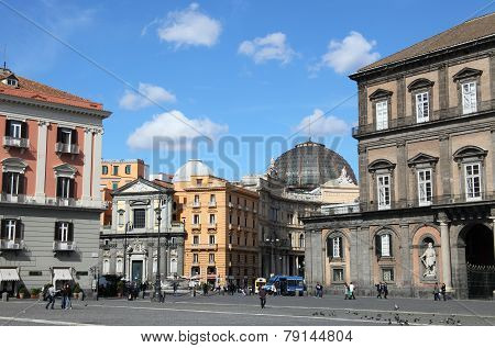 Historic center of Napoli
