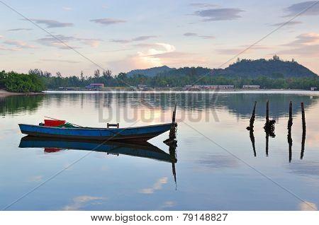 Fishing Boat in Sabah Borneo