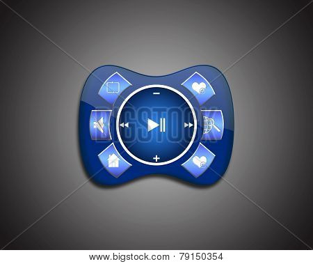 blue media Player