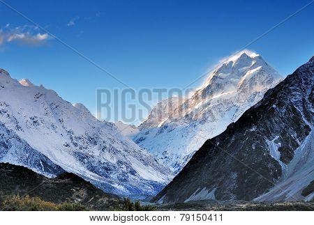Mt. Cook In New Zealand