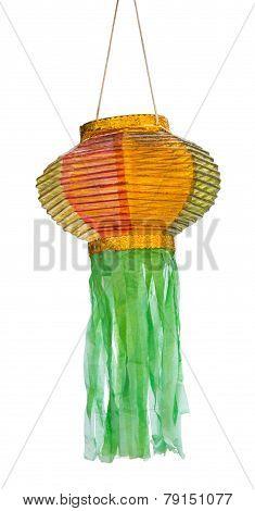 Isolated Thai Lanna Lantern