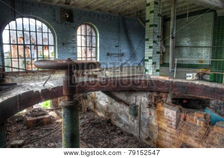 Old And Abandoned Brewery In Germany