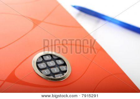 Notebook-Rechner und einen Stift