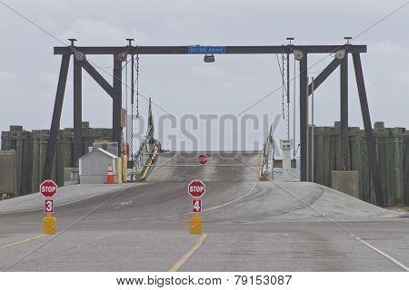 Boarding The Ocracoke Ferry