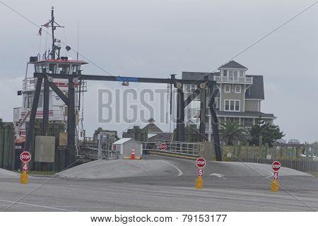 Ocracoke Ferry Dock Landing