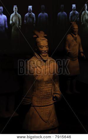 Krieger der chinesischen Terrakotta-Armee