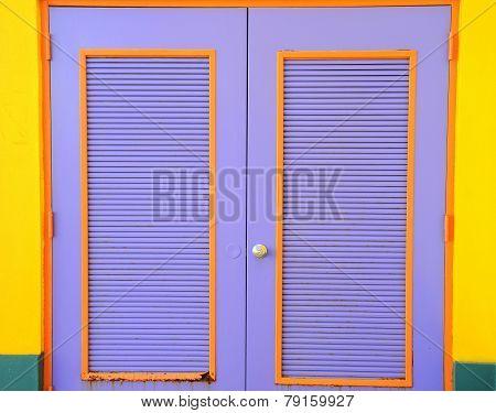 Caribbean doors.
