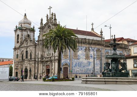 Church Of The Carmelites And Our Lady Of Mount Carmel In Porto