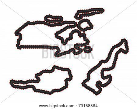 Racing Tracks Maps 4