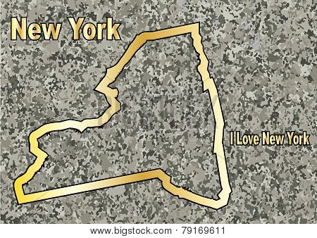 New York In Stone