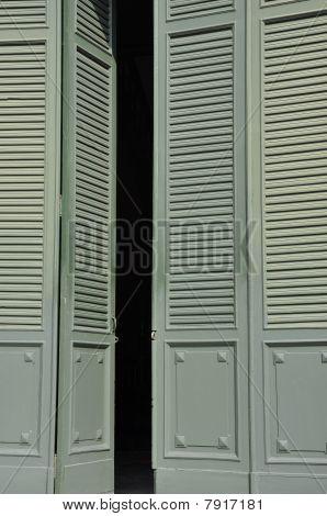 Green Vent Door Classic