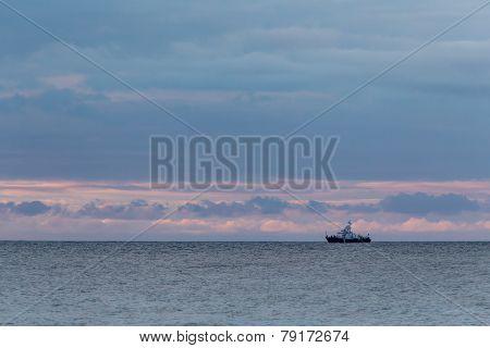 Patrol Ship On The Horizon