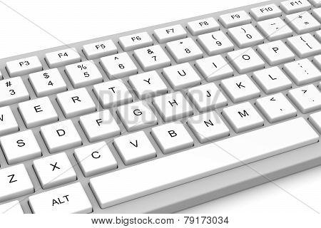White Pc Keyboard