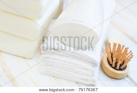 clean cotton towel