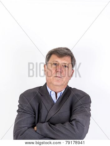 Portrait Of A Thoughtful Man