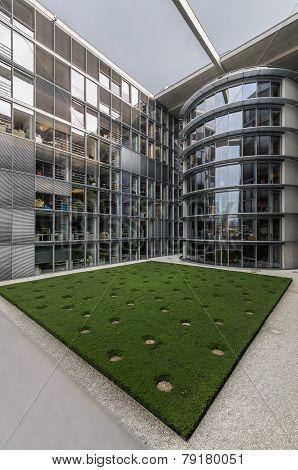 Paul Loebe Haus  Parliamentary Office Building In Berlin