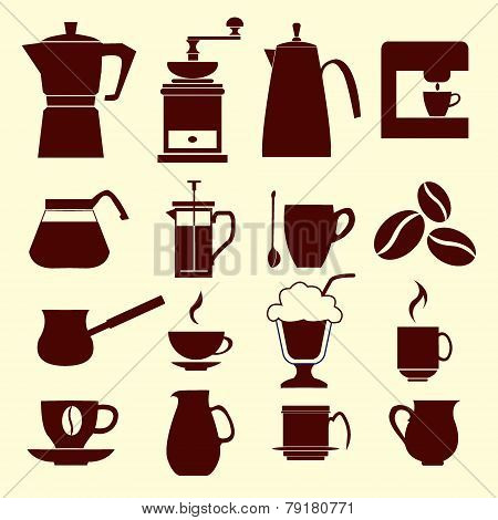 Coffee Icons - Illustration
