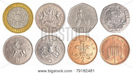 England Circulating Coins