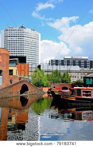 Gas Street Basin, Birmingham.
