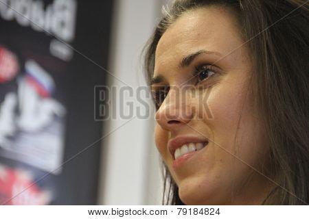 Journalist Natalia Morari