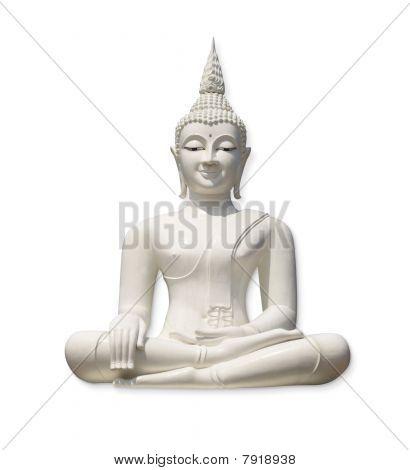 Buda blanco (aislada)