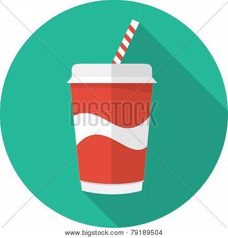 Vector soda cup