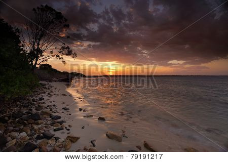 Sunset Botany Bay Sydney