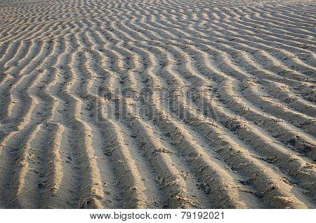 Pattern Of Sea Sand