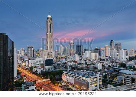 Baiyok Tower In Bangkok