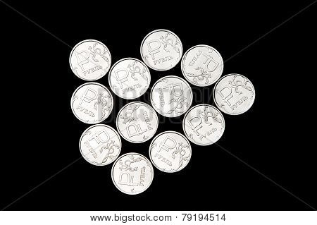 Several Russian Ruble Coins