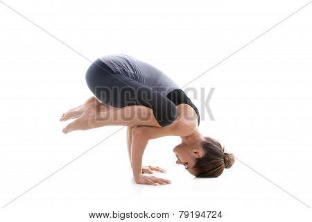 Girl Doing Handstand