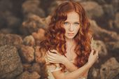 pic of redhead  - Beautiful red - JPG